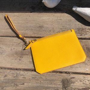 Anne Klein Clutch/Wristlet Yellow